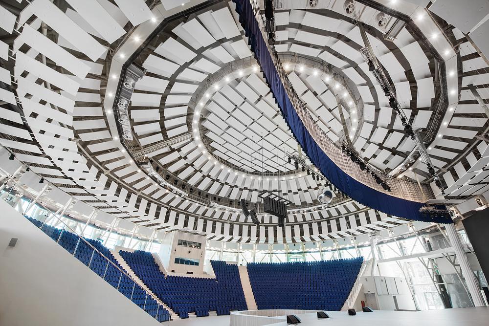 Концертный зал «Амфитеатр» в ФГБОУ «Всероссийский Детский Центр «Орлёнок», Туапсе